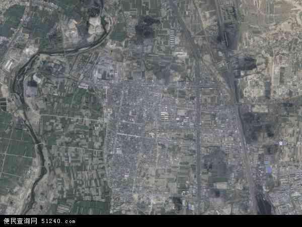 中国山西省临汾市洪洞县赵城镇地图 卫星地图