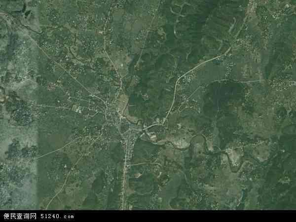 中垌镇地图 - 中垌镇卫星地图 - 中垌镇高清航拍