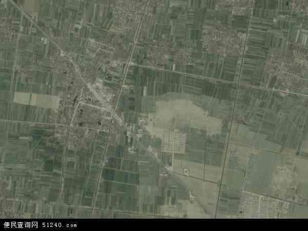 中国山东省菏泽市曹县砖庙镇地图(卫星地图)