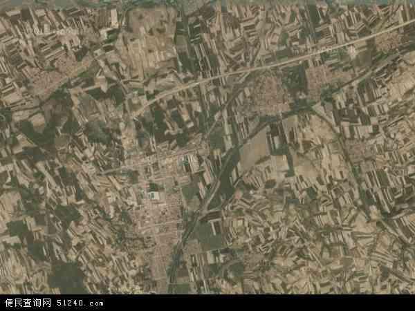 中国山东省青岛市黄岛区宝山镇地图(卫星地图)