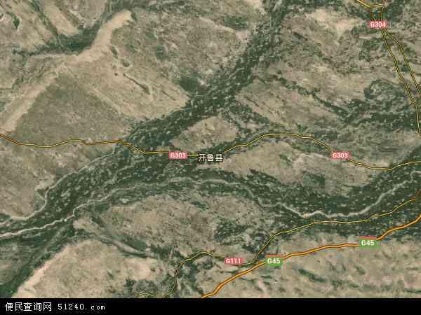 保安农场地图 - 保安农场卫星地图