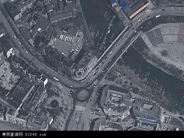 北郊镇地图 - 北郊镇卫星地图
