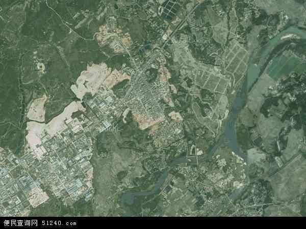 中国广东省阳江市阳东县北惯镇地图(卫星地图)
