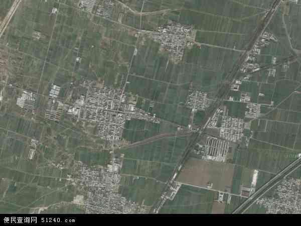 中国河南省鹤壁市淇县北阳镇地图(卫星地图)