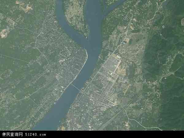 长安镇地图(卫星