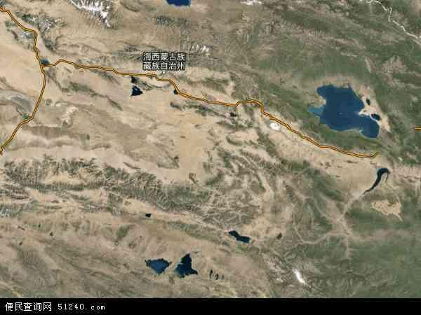 察汉乌苏镇地图 - 察汉乌苏镇卫星地图