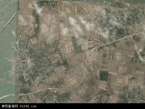 中国陕西省宝鸡市凤翔县陈村镇地图(卫星地图)