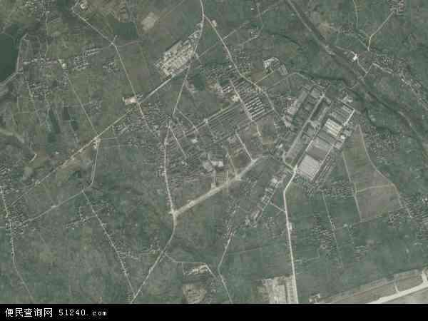 中国陕西省汉中市城固县崔家山镇地图(卫星地图)