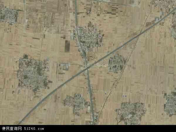 中国河北省邢台市威县第什营乡地图(卫星地图)