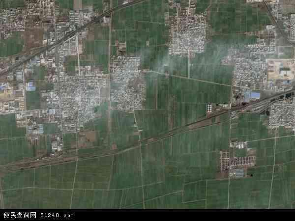 中国河南省新乡市新乡县大召营镇地图(卫星地图)