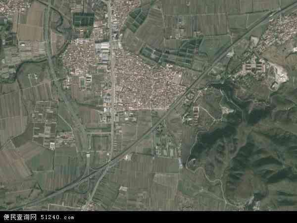 2015年东高村镇高清卫星地图
