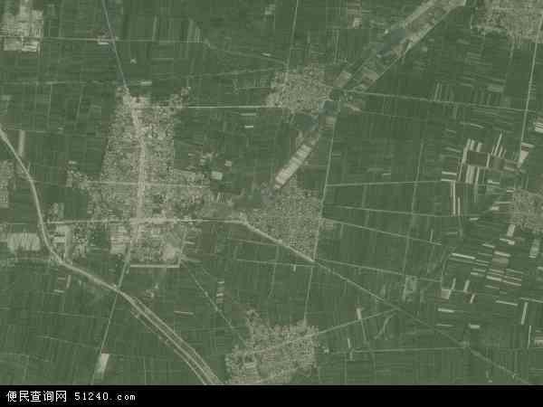 中国山东省菏泽市东明县东明集镇地图(卫星地图)