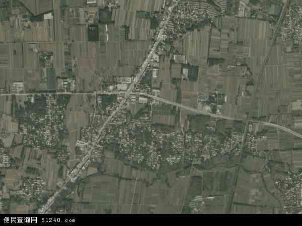 中国河北省保定市涿州市东仙坡镇地图(卫星地图)