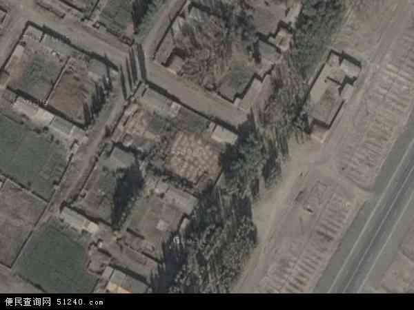 自治区塔城地区额敏县二支河牧场地图(卫星地图)