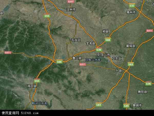 地图   城关镇卫星地图; 河南卫星地图全图 ;   河南平顶山 卫高清图片