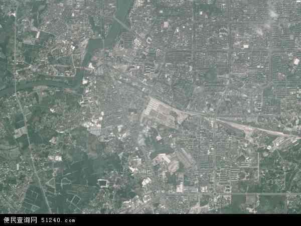 中国广东省茂名市茂南区高山镇地图(卫星地图)