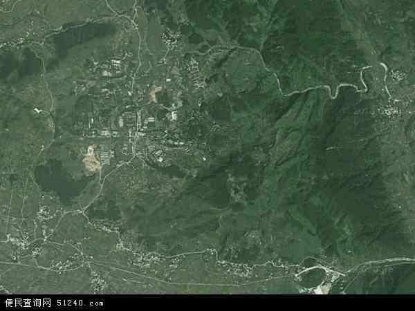 甘塘镇地图 - 甘塘镇卫星地图 - 甘塘镇高清航拍