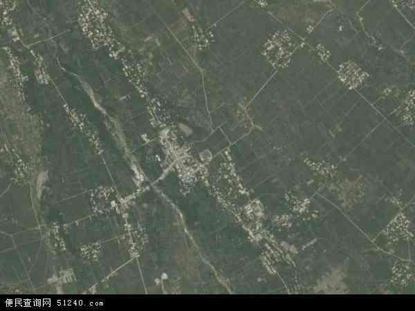 中国陕西省渭南市华县高塘镇地图(卫星地图)
