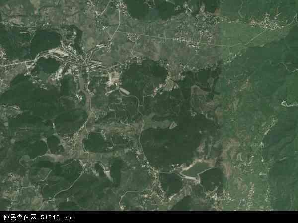 中国湖南省衡阳市衡南县花桥镇地图(卫星地图)图片