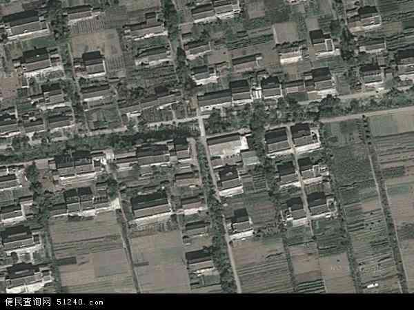 中国江苏省南通市海门市海门高新区地图(卫星地图)