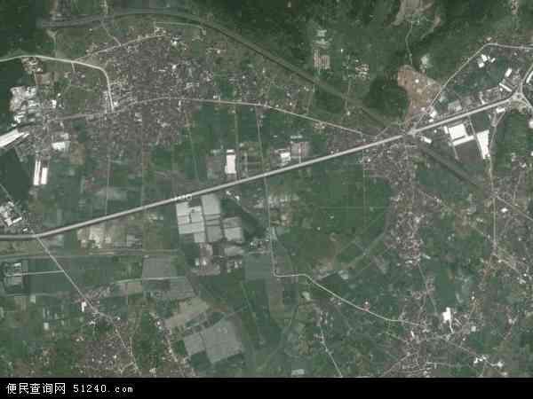 中国福建省福州市长乐市鹤上镇地图(卫星地图)