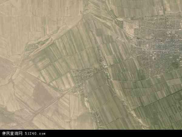 维吾尔自治区塔城地区裕民县江格斯乡地图(卫星地图)