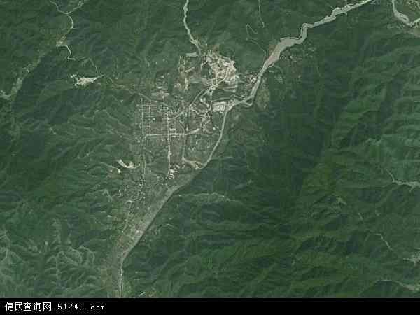 岿美山镇地图 - 岿美山镇卫星地图 - 岿美山镇高图片