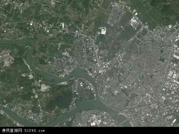 莲华镇地图 - 莲华镇卫星地图 - 莲华镇高清航拍