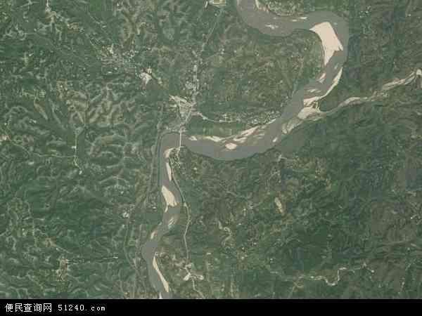 龙口镇卫星地图 - 龙口镇高清卫星地图