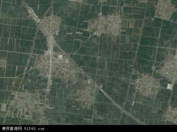 中国河南省新乡市封丘县鲁岗乡地图(卫星地图)