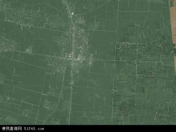 龙口镇地图 - 龙口镇卫星地图