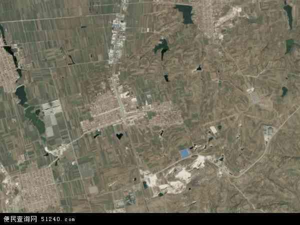 中国山东省烟台市莱阳市吕格庄镇地图(卫星地图)