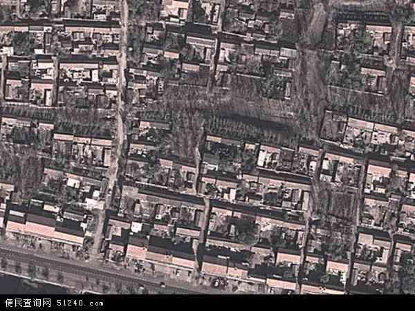 中国山东省菏泽市郓城县南赵楼镇地图(卫星地图)