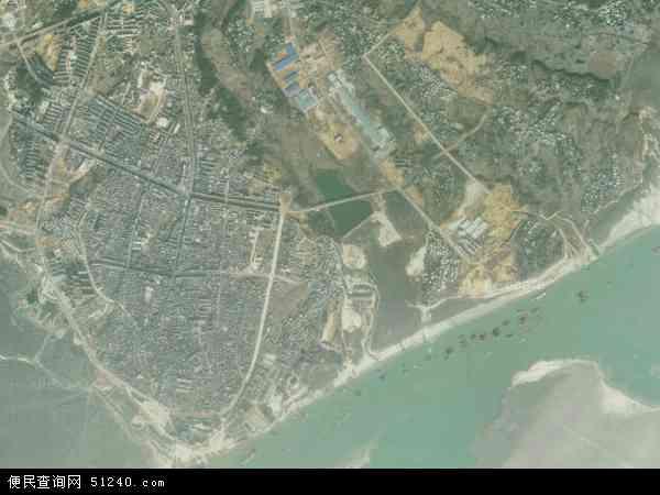 中国江西省九江市星子县南康镇地图(卫星地图)图片