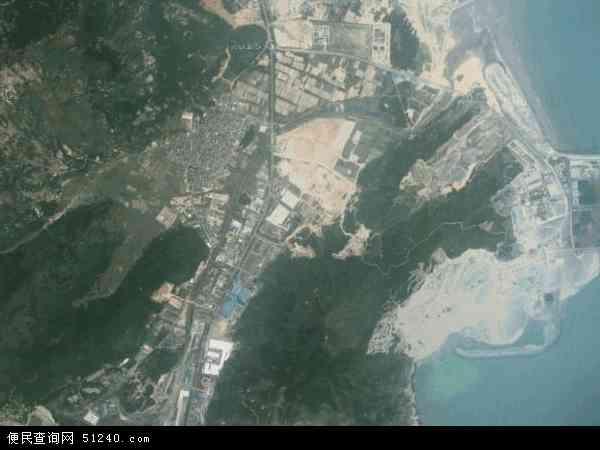 中国福建省福州市长乐市?#19978;?#38215;地图(卫星地图)
