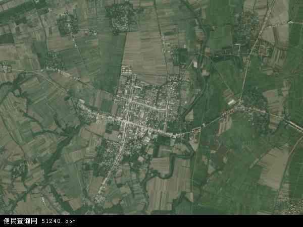 中国湖北省襄阳市襄州区石桥镇地图(卫星地图)