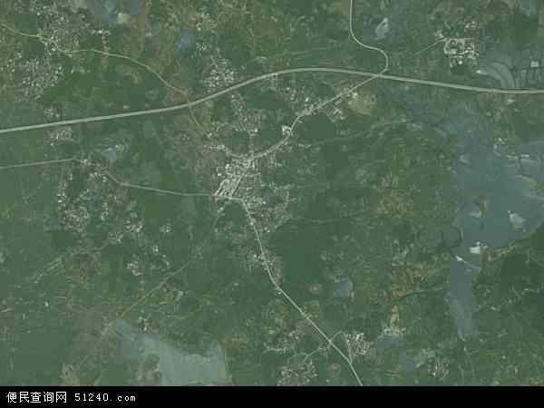 中国广西壮族自治区南宁市横县石塘镇地图(卫星地图)