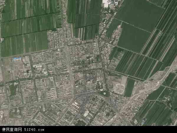 中国新疆维吾尔自治区塔城地区沙湾县三道河子镇地图