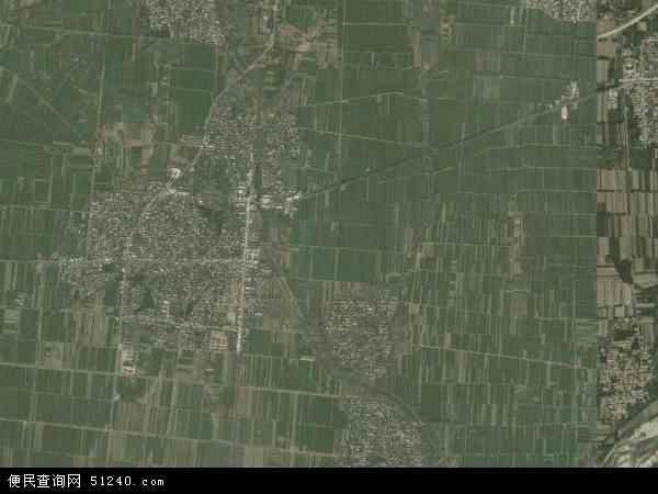 中国山东省泰安市新泰市天宝镇地图(卫星地图)