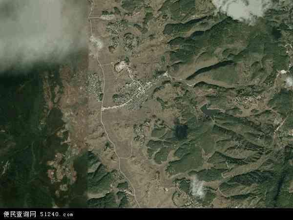 中国云南省保山市施甸县太平镇地图(卫星地图)