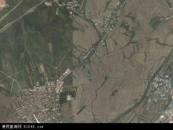 中国辽宁省葫芦岛市连山区塔山乡地图(卫星地图)