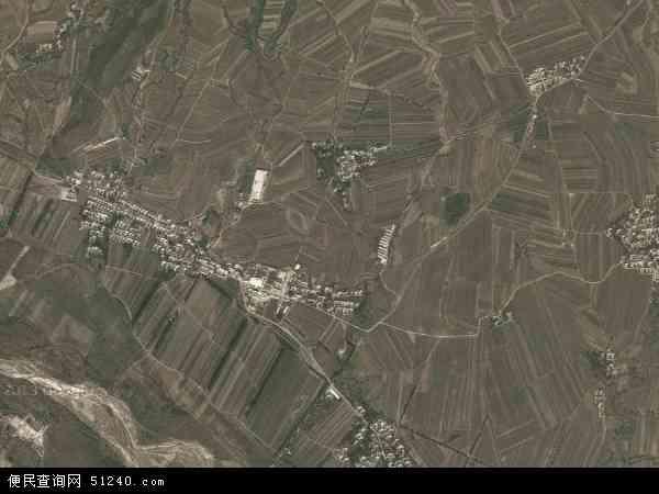中国辽宁省朝阳市北票市台吉营乡地图(卫星地图)