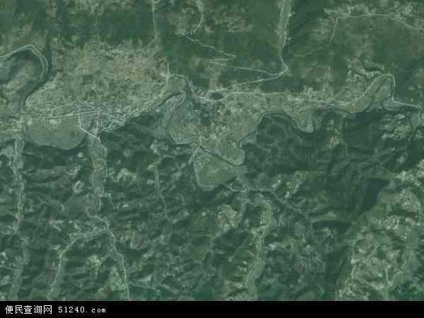 中国湖南省常德市石门县太平镇地图(卫星地图)
