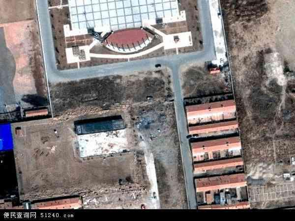 乌拉盖牧场地图 - 乌拉盖牧场卫星地图