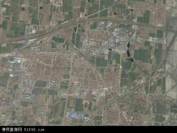 中国山东省淄博市周村区王村镇地图(卫星地图)