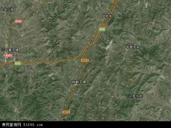 瓦房店镇地图 - 瓦房店镇卫星地图