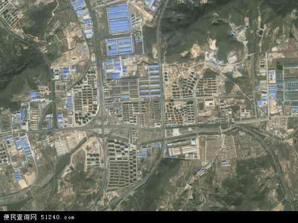 温泉镇2017年卫星地图 中国山东省威海市环翠区温泉镇地图