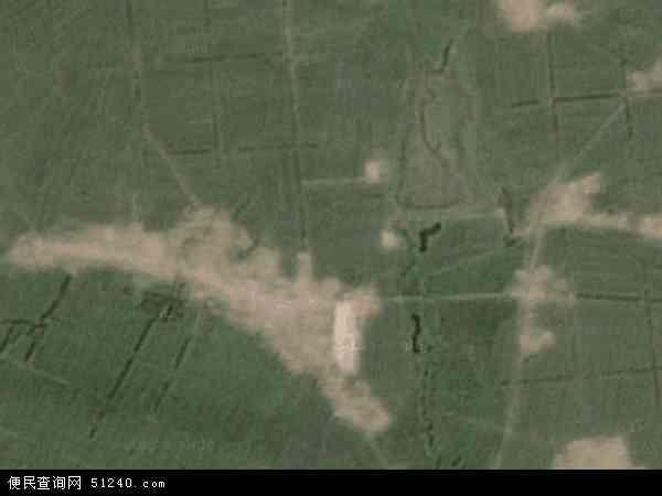 中国吉林省长春市榆树市秀水镇地图(卫星地图)