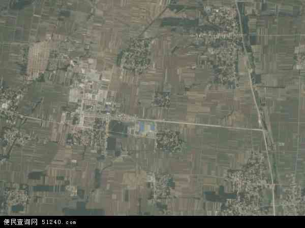 杨柳镇高清卫星地图 杨柳镇2017年卫星地图 中国山东省济宁市泗水