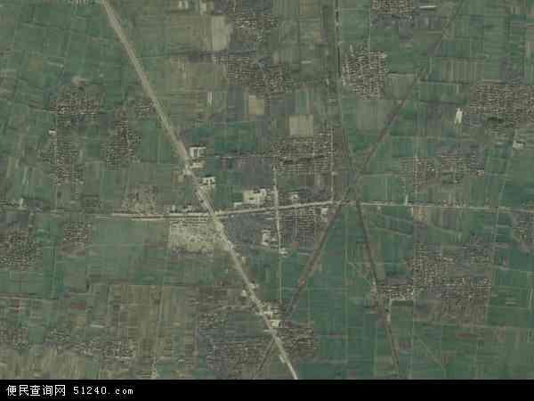 中国山东省菏泽市曹县阎店楼镇地图(卫星地图)